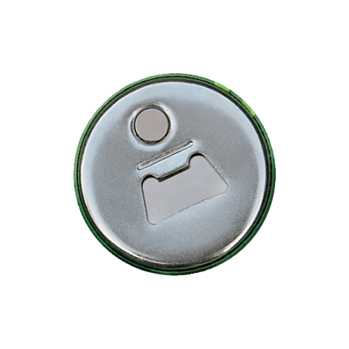 Button met flesopener