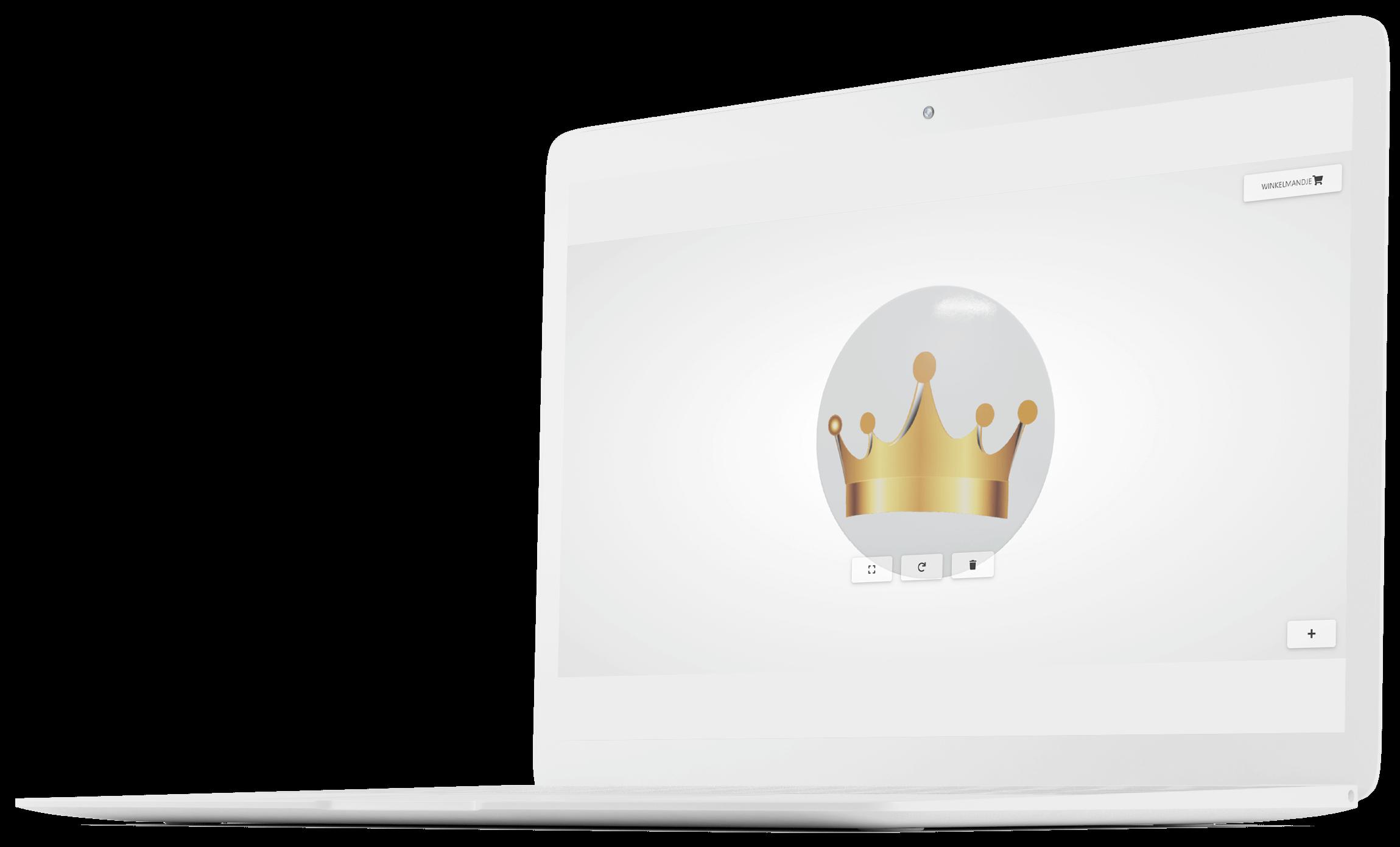 Mockup online buttons ontwerpen